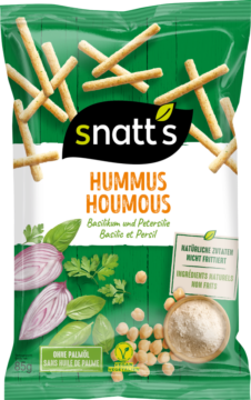 Snatt's Hummus Sticks – Basil & Parsley (110753)