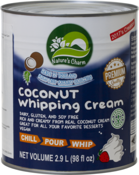 Nature's Charm Coconut Whipping Cream (110872)