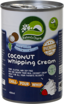 Nature's Charm Coconut Whipping Cream (110874)