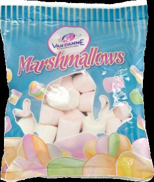 Van Damme Marshmallows tubes white (110969)