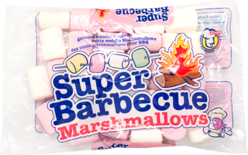 Van Damme Marshmallows super BBQ white and pink (110970)
