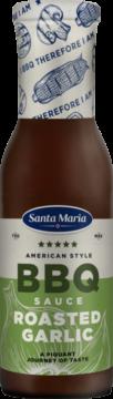 Santa Maria BBQ Sauce Roasted Garlic (ail) (110987)