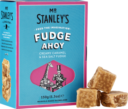 Mr. Stanley's Caramel & sea salt fudge (111005)