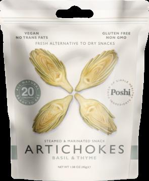 Poshi Artichokes, marinated – basil & thyme (111064)