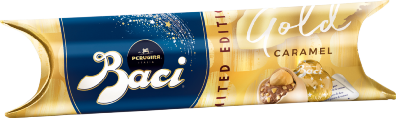 Baci Perugina Tube 3 Stück – Gold Limited Edition (111075)