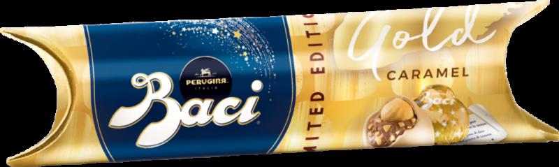 Baci Perugina Tube 3 pieces – Gold Limited Edition (111075)