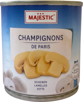 Majestic Champignons slices (111115)