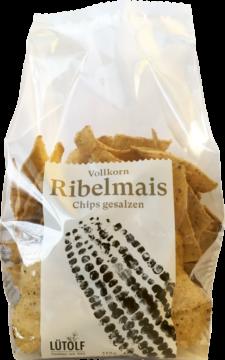 Lütolf Spezialitäten Wholegrain Ribelmais crisps (111121)