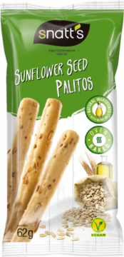 Snatt's Breadsticks Palitos – sunflower seed (111126)