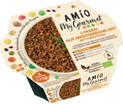 Amio Lentils mediterranean style with herbs (111138)