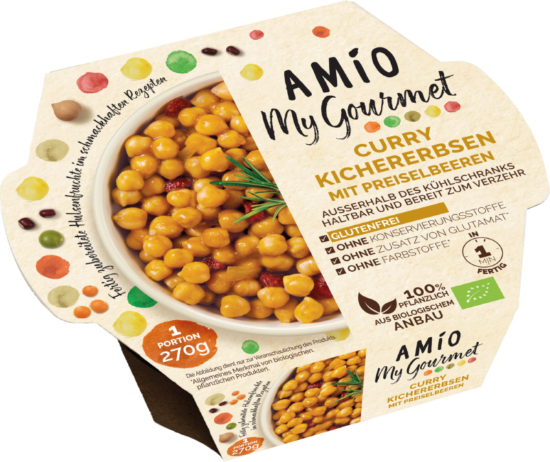 Amio Curry chickpeas with cranberries (111139)