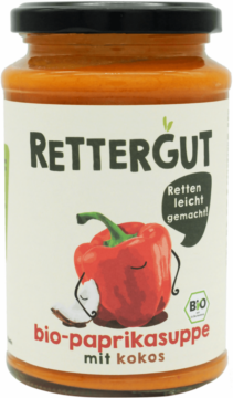 Rettergut Organic pepper soup with coconut milk (111175)