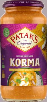 Patak's Korma Sauce (113351)