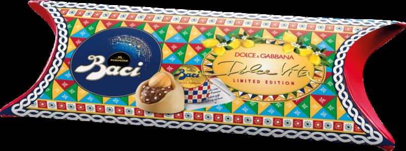 Baci Perugina Tube 3 pieces – lemon – Dolce & Gabbana (113380)