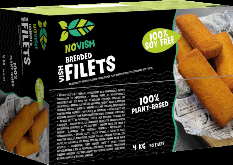 Novish Breaded filets with fish flavor (113414)