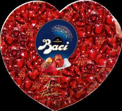 Baci Perugina Heart Box 8 pieces – rasperry Dolce & Gabbana (113473)