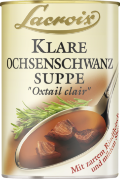Lacroix Suppe & Sauce Thickened oxtail soup (18905)