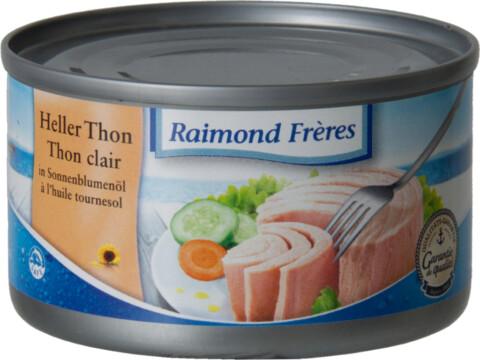 Raimond Frères Bright tuna (Tongol) in oil (22300)