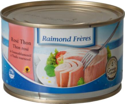 Raimond Frères Thon rosé huile tournesol (SKJ) (22345)