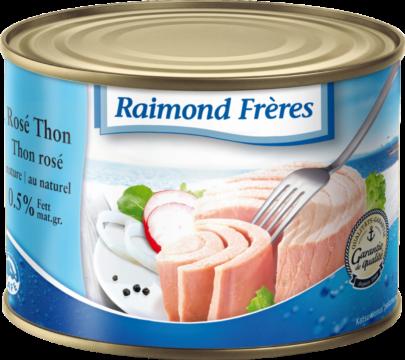 Raimond Frères Rosé Thon in Wasser (SKJ in brine) (22380)