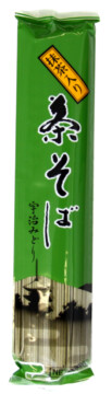 Kanesu Dried Buckwheat Noodles Green Tea (229327)