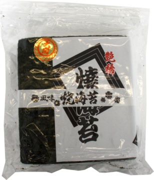 Ozeki Roasted Seaweed Yaki Nori – 100 sheets (229905)