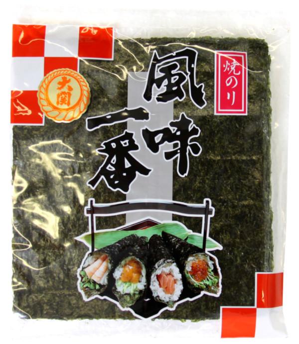 Ozeki Algue de mer grillée YAKI NORI GOLD – 10 feuilles (229906)