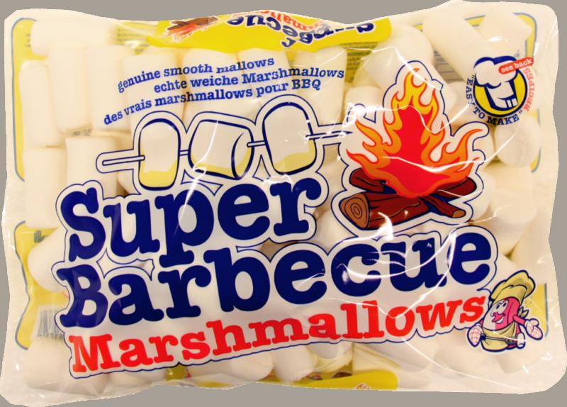 Van Damme Marshmallows super BBQ white (230436)