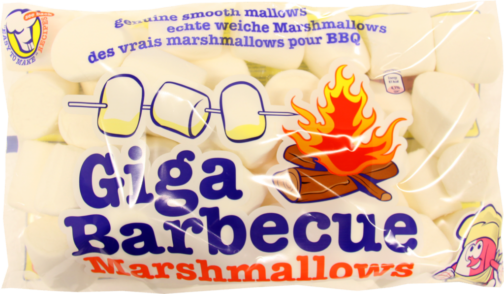 Van Damme Marshmallows giga BBQ white (230437)