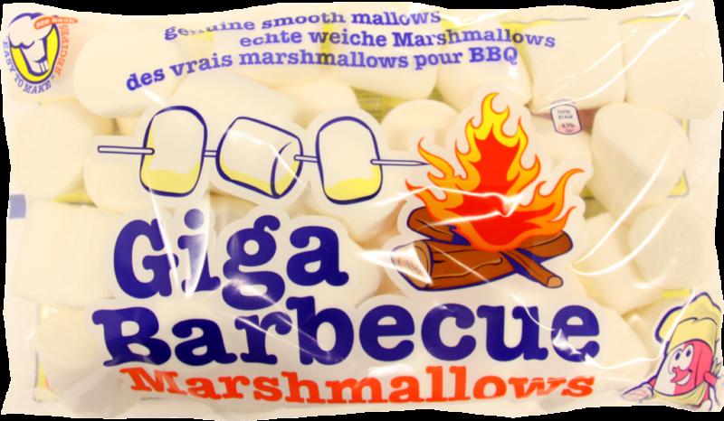 Van Damme Marshmallows giga BBQ white (230437)