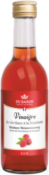 Dubaron Vinegar of white wine with raspberry 6° (32449)