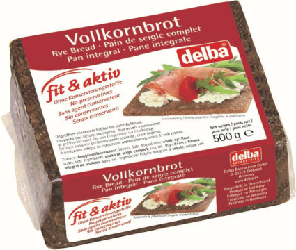 Delba Fit & Aktiv brown bread (5190)