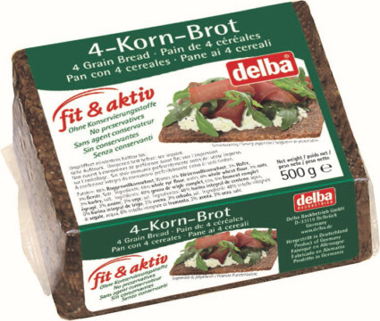 Delba Fit & Aktiv four-grain bread (5192)
