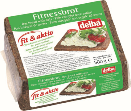 Delba Fit & Aktiv fitness brown bread (5194)