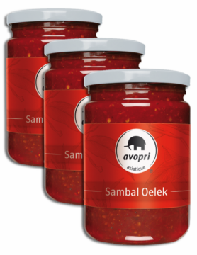 Avopri Sambal Oelek – chili paste (64322)