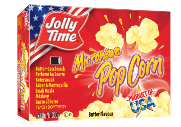 Jolly Time Pop Corn Butteraroma – Mikrowelle (7835)