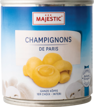 Majestic Champignons whole (9000)