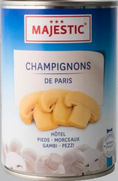 Majestic Champignons, pieds+morceau (9210)