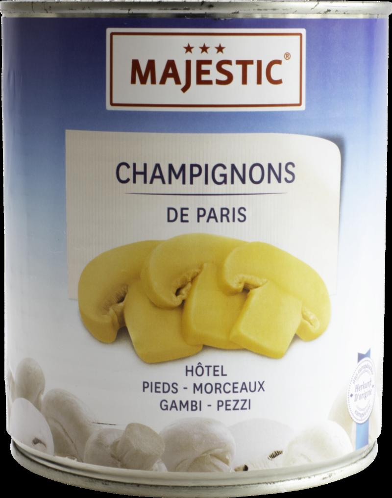 Majestic Champignons hôtel pieces & stems (9220)