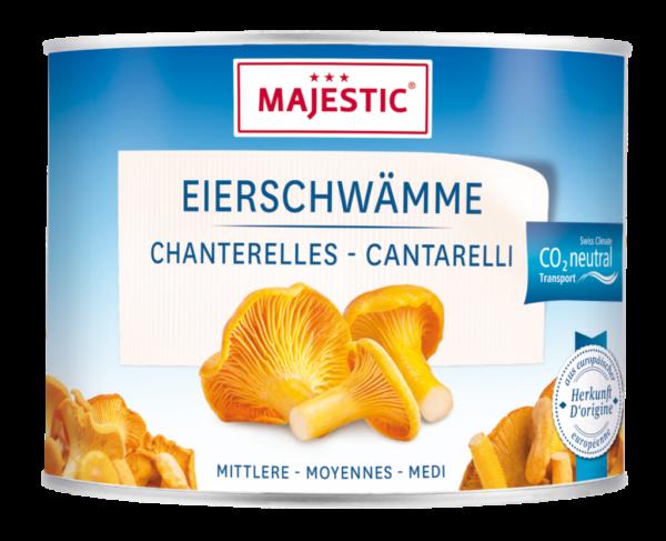 Majestic Eierschwämme – mittel (9400)