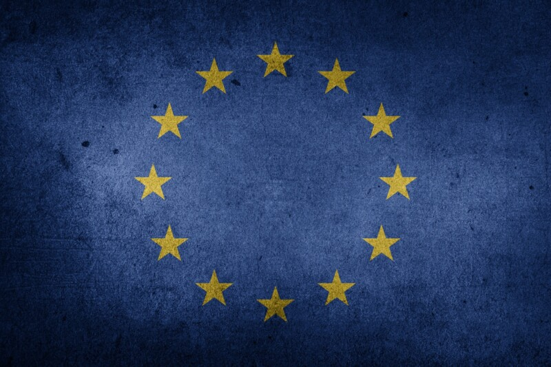 aus europäischer Herkunft Europa Fahne